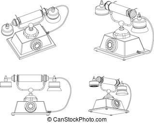 Telefon w hlscheibe schreibtisch w hlscheibe for Schreibtisch 3d modell