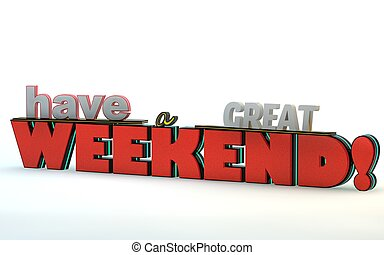 Have A Great Weekend Illustrations And Clip Art 36 Have A Great