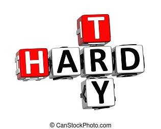 3d, mots croisés, essayer, dur, blanc, fond