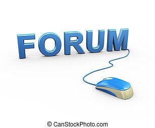 3d mouse attached to word text forum