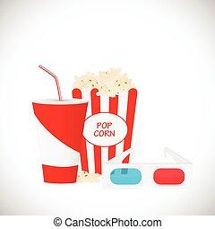 3d movie illustration