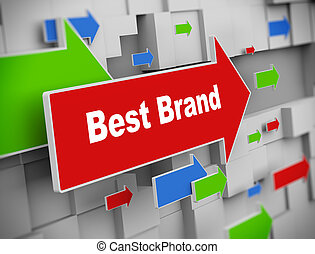 3d moving arrow - best brand