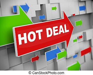 3d moving arrow - hot deal