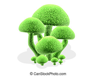 3d mushrooms #3