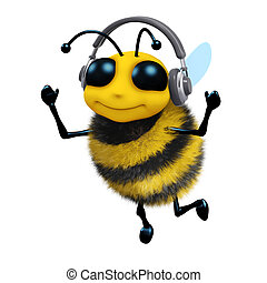 3d Music bee