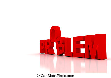 problem - 3d muti use problem in white background