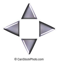 3D Navigation Arrows