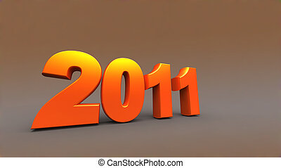 3d new year 2011