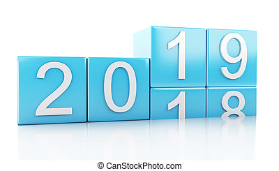 3d New Year 2019