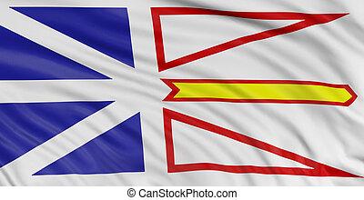 3D Newfoundland and Labrador Flag