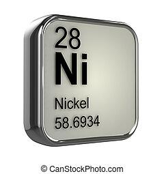3d, nikkel, element