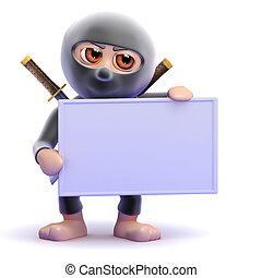 3d Ninja banner
