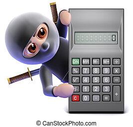 3d Ninja calculator