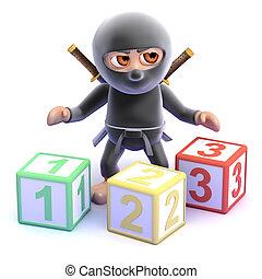 3d Ninja counts