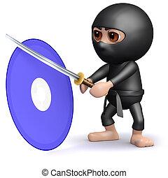 3d Ninja dvd