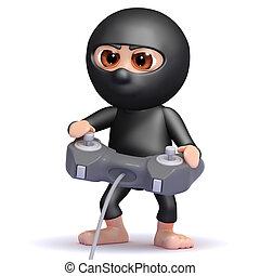 3d Ninja gamer