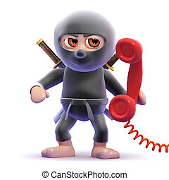3d Ninja phone