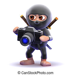 3d Ninja photographer