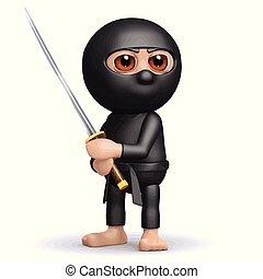 3d Ninja ready