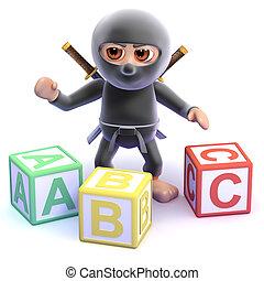 3d Ninja spells