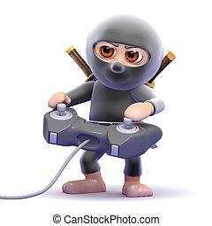 3d Ninja videogamer