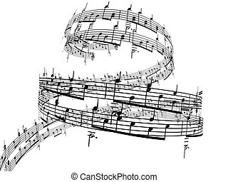 3d, notas música