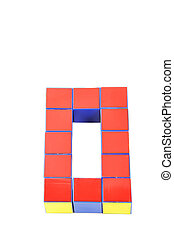 3d numbers by Cubes zero