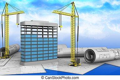 3d of building construction