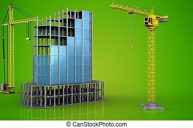 3d of crane