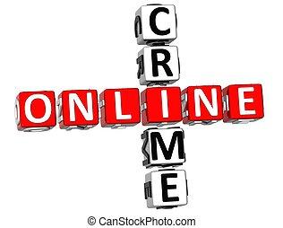 Online Crime Crossword