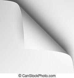 3d page curl