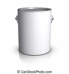 Paint Can - 3D Paint Can.