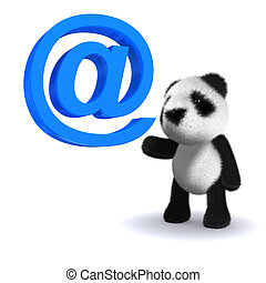 3d Panda has an email address