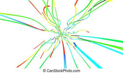 3d party line konfetti