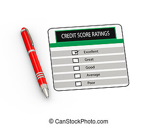 3d pen and credit score rating