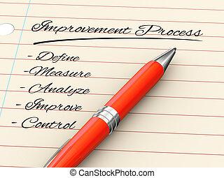 3d pen on paper - improvement process