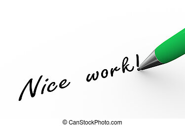 3d pen writing nice work illustration