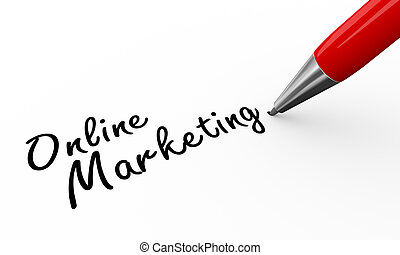 3d pen writing online marketing