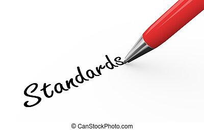 3d pen writing standards