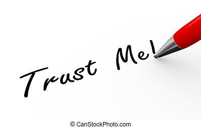 3d pen writing trust me