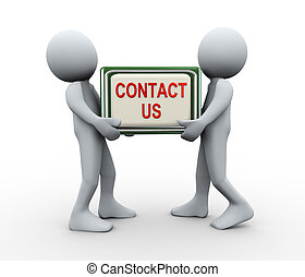 3d people contact us