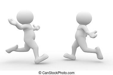 Retrieval - 3d people - human character, person - hug. ...