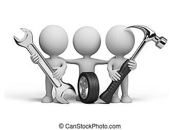 3d people ? repairmen