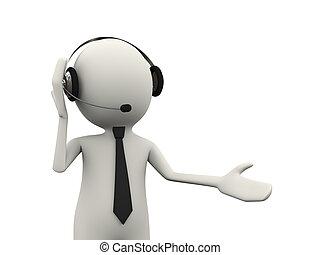 3d person headphone customer help support