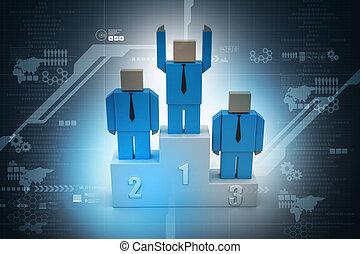 3d, personas que tienen manos, en, el, palabra, equipo