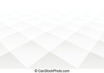 3d perspective style diamond shape white pattern background