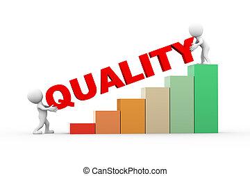 3d, pessoas, com, texto, qualidade
