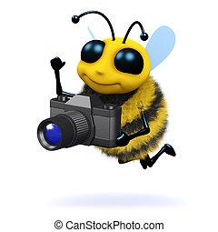 3d Photographer bee