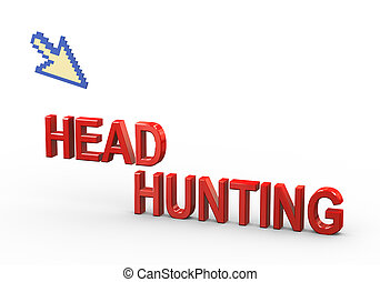 3d pointer and headhunting