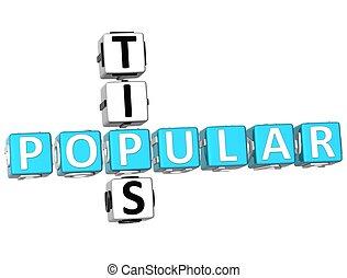 Popular Tips Crossword